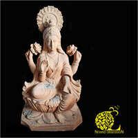 Terracotta Laxmi Ji Sculpture
