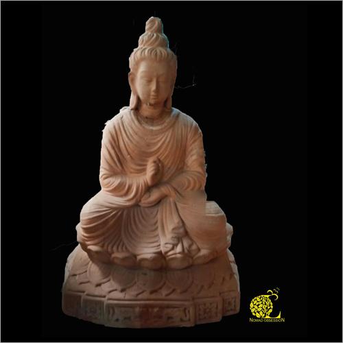 Terracotta Budha Sculpture