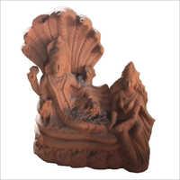 Terracotta Vishnu Ji Sculpture