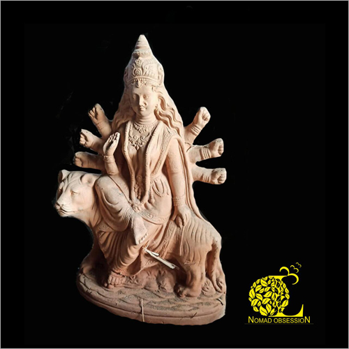 Terracotta Goddess Sculpture