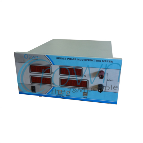 Single Phase Digital Multifunction Meter