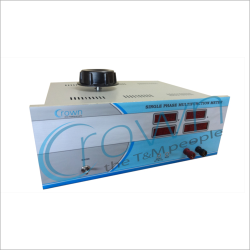 AC Source Single Phase Multifunction Digital Meter