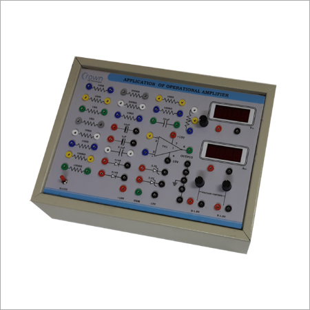 Study Of Operational Amplifiers Educational Trainer