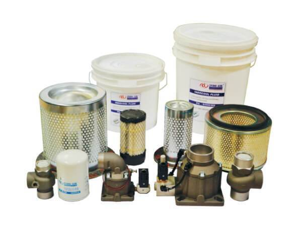 Spare parts of Air Compressors