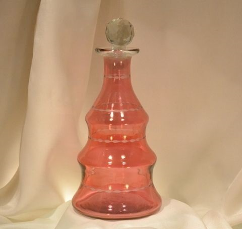 Long Antique Decanter