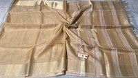 Pure Tissue Tussar Silk Plain Saree