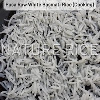 Pusa Raw White Basmati Rice