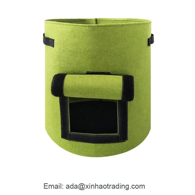 Smart Pot Planter For Vegetable 5 7 10 Gallon Biodegradable Fabric Potato Plant Grow Bags