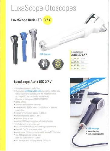 OTOSCOPES AURIS 3.5V RECHARGEABLE LED