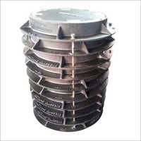 Round Solid Top Manhole Covers & Frames