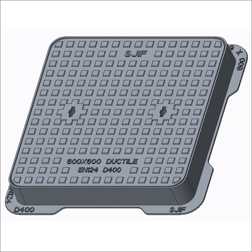 Square Solid Top Manhole Covers & Frames