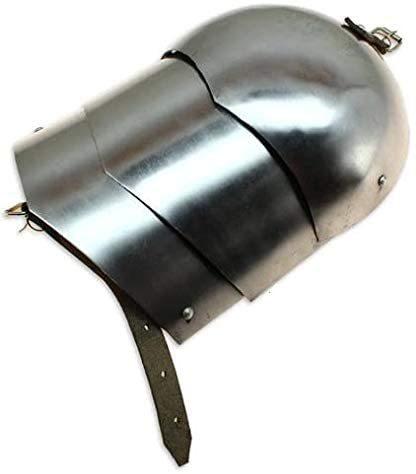 B08GBTG12Z Medieval Pauldron Set Pair Plate Armor Steel Real Adult