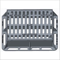 Hinged Lockable Type Gratings