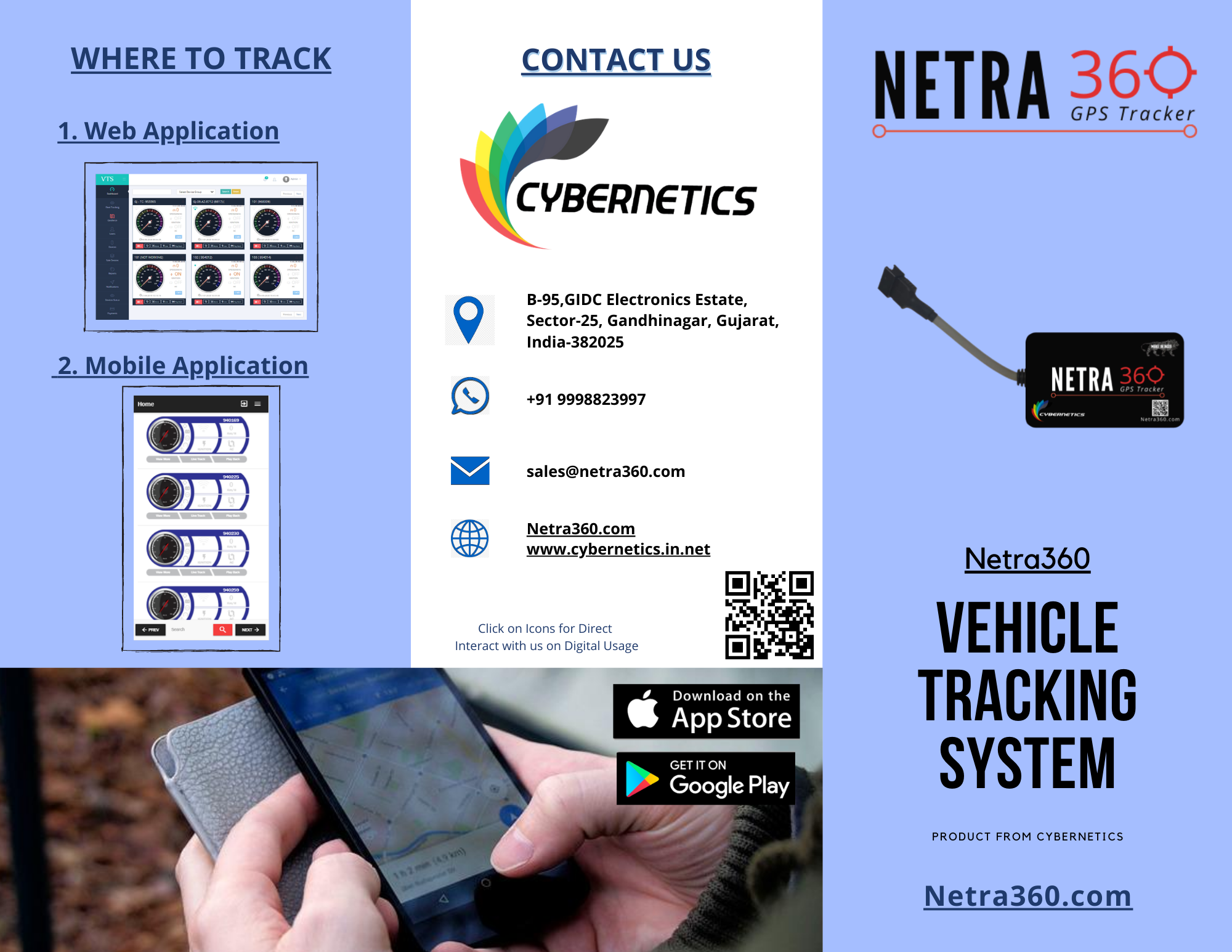 Redbus Compatible GPS Tracker - Made in India product at lowest price in Industry.