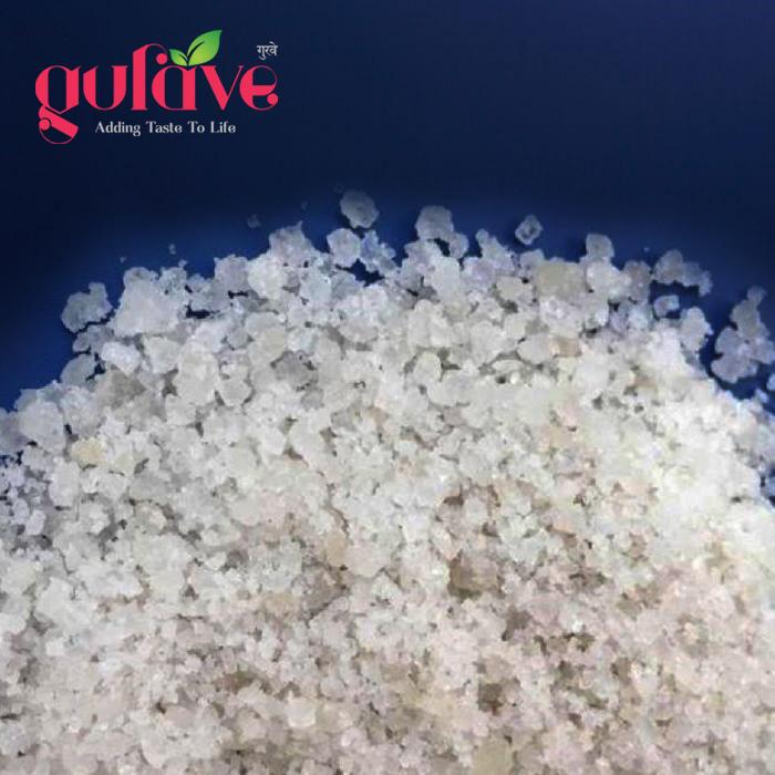 White Raw Salt