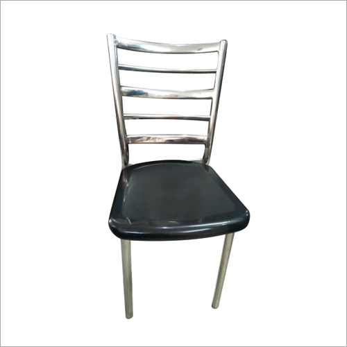 Steel Armless Cafe Chair