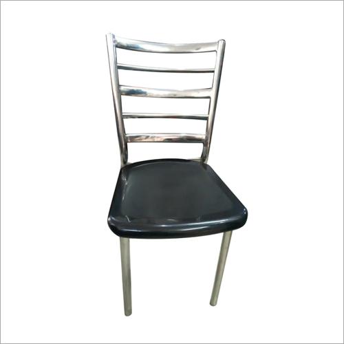 Steel Armless Cafe Chair
