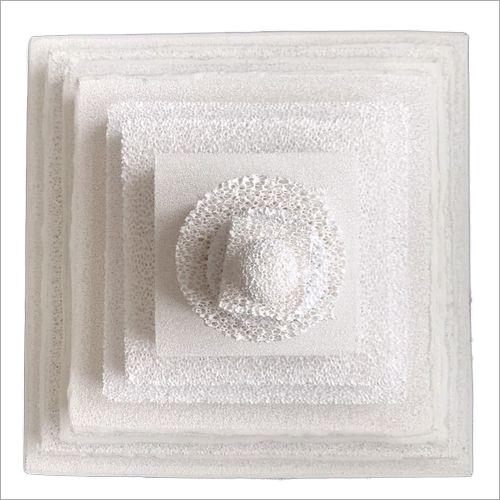 Alumina Foam Ceramic Filter Plate for casting