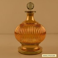 Very Beautiful Shape And Colourful Glass Decanter
