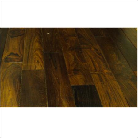 Dark Teak Finish Flooring
