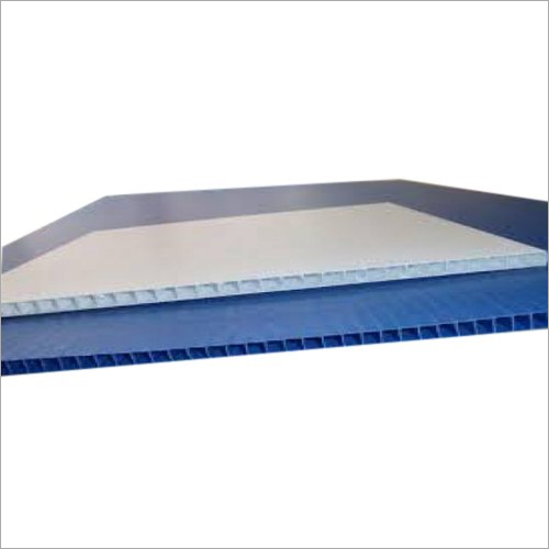 PP Rectangle Flute Board