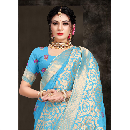 Banarasi Viscose Saree
