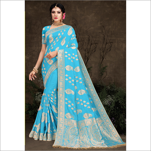 Banarasi Fancy  Viscose Ladies Saree