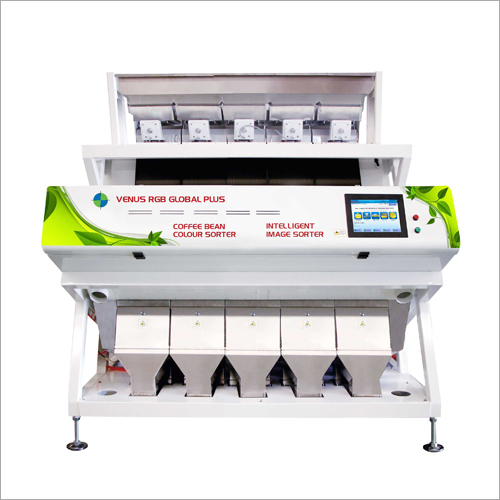 Robosta Cherry Peaberry Coffee Bean Sorter Machine