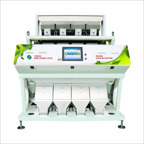 Yellow Drygrapes Color Sorter Machine