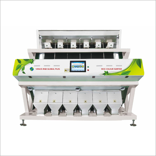 Palakkad Matta Rice Color Sorter Machine