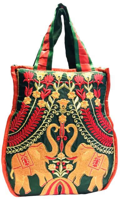 fancy worked bag