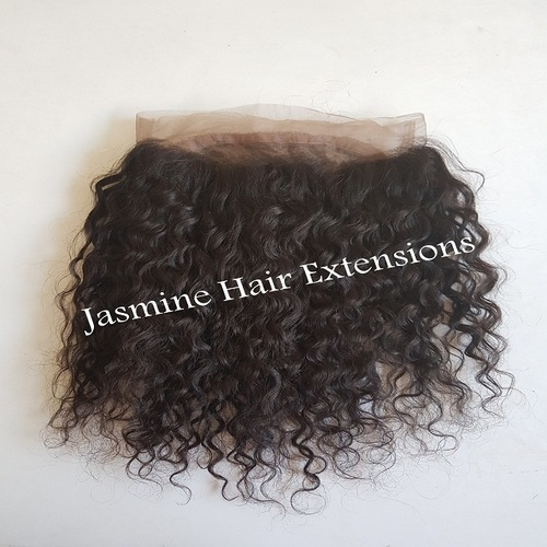 Unprocessed Curly Lace Frontal 13x4