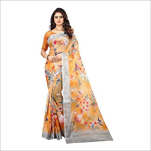 Ladies Printed Fancy Saree