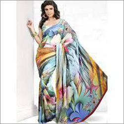 Digital Printing Saree