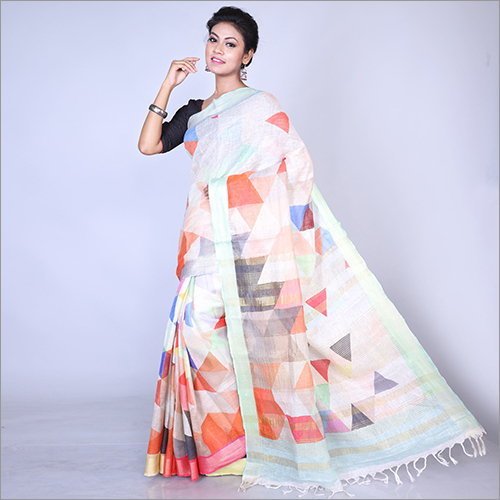 Ladies Indian Printed Saree