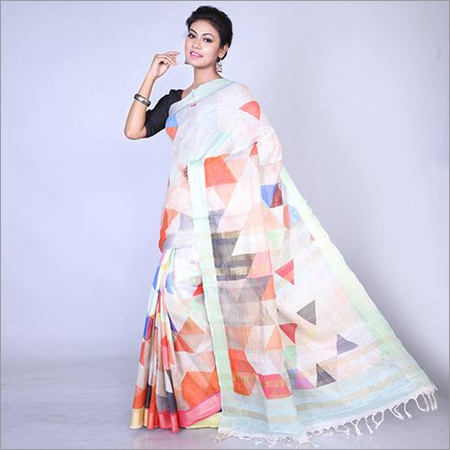Ladies Indian Printed Saree