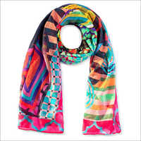 Digital Printed Fancy Scarf