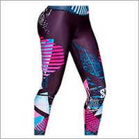 Ladies Printed Yoga Leggings