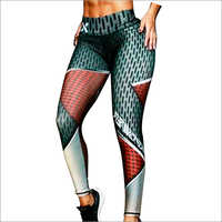 Ladies Digital Printed Leggings