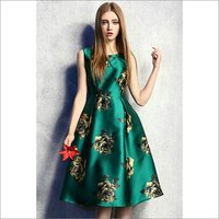 Satin Western Wear Dress Fabric