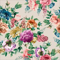 Fabric Floral Printing Service