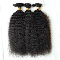 Brazilian Kinky Straight Bulk Human Hair