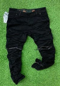 Men''s Branded Black Casual Jeans