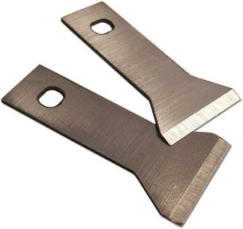 Die face granule cutter blade