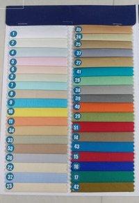 Cotton Satin Plain Dyed Shirting Fabric