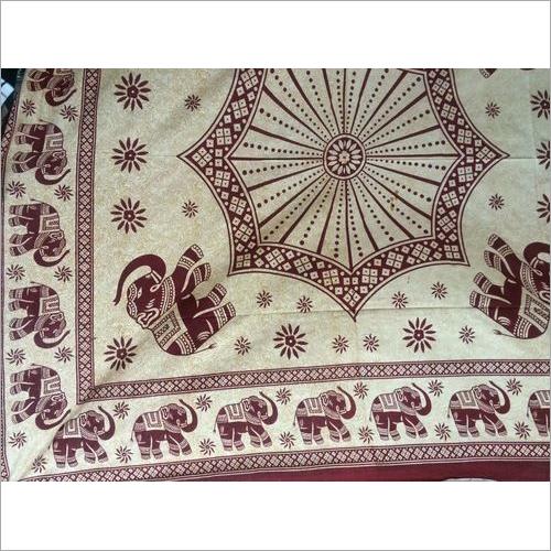 Cotton Jaipuri Bedsheets