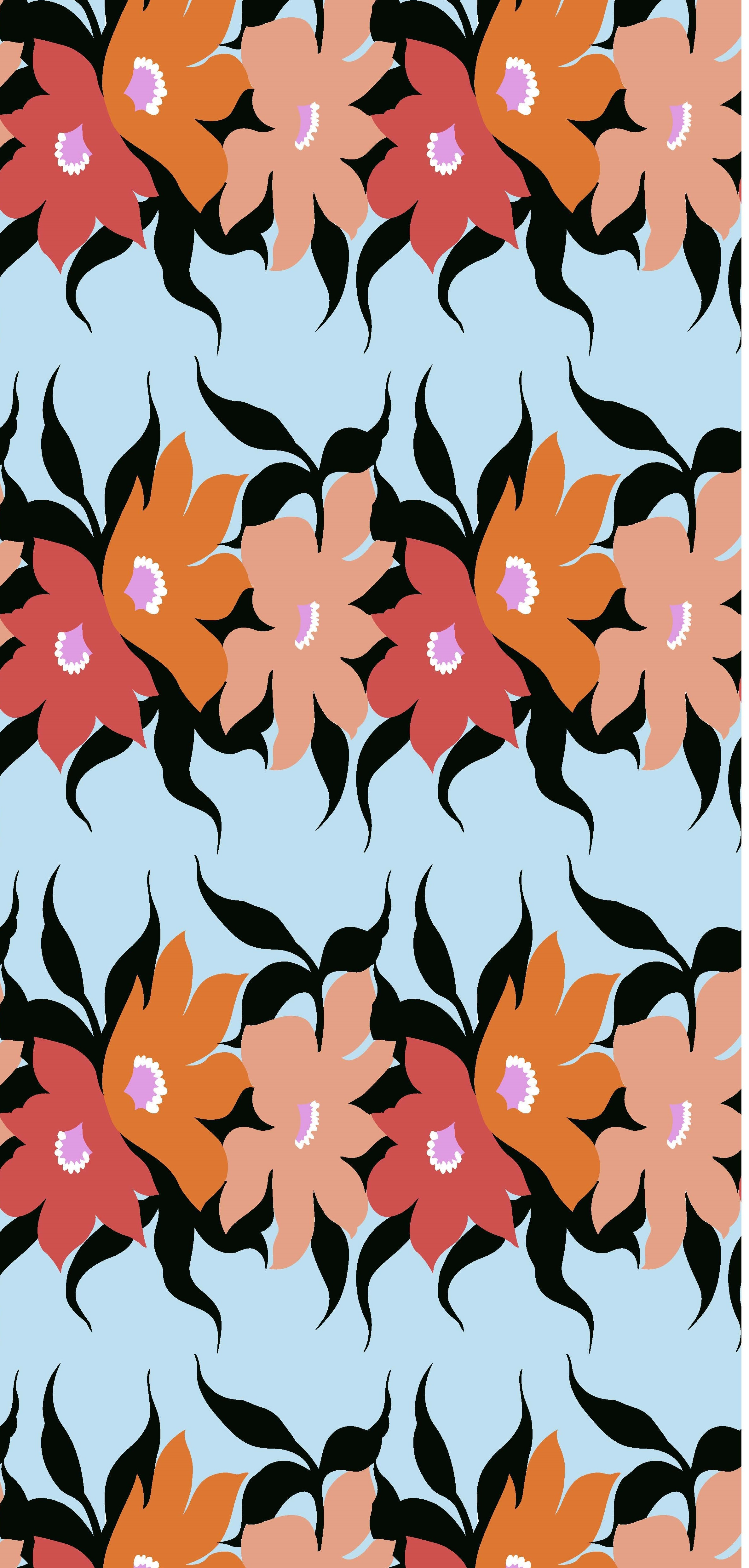 Printed Polyester Voile