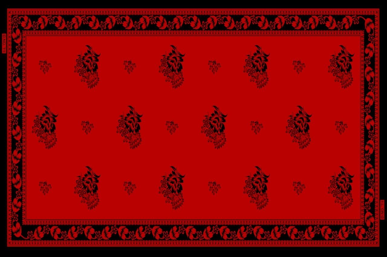 Cotton Dyed & Printed Dupatta