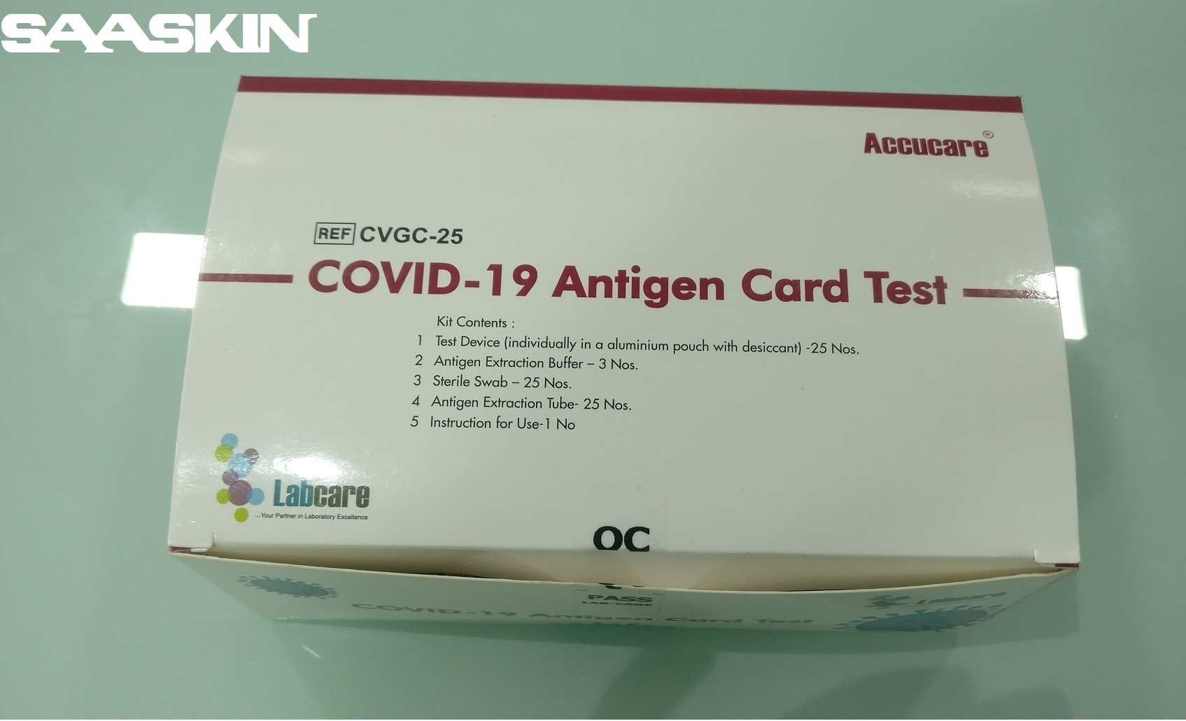 Accucare Covid-19 Antigen (Ag) Detection Kit ( Icmr Approved)