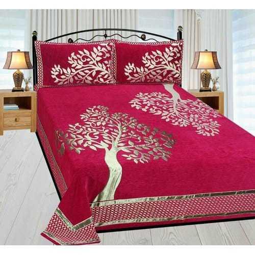 Chenille Double Bedsheet